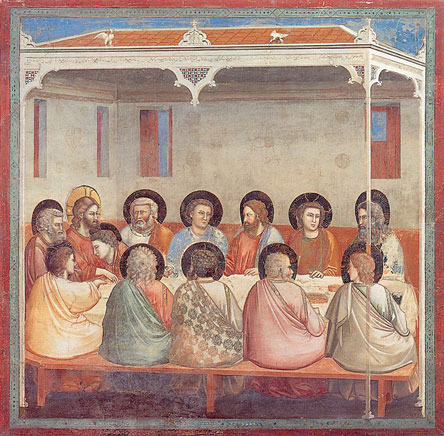 Giotto: Last supper